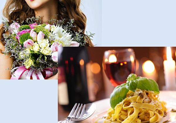 создание сайта цветов и ресторана